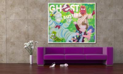 art, comic, kunst, austria, carinthia, mario stroitz, mario maja stroitz, artmaja, popart, comicart, ghostbusters, simpsons, futurama