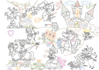 playmais, kinderhotels, spiel, game, ritter, art, comic, kunst, austria, carinthia, mario stroitz, artmaja, popart, comic art, comicart, klagenfurt, gallery