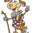 artmaja, maja, cartoon, geislerhof, ziegenbock, geisi, comic, comicart, mario stroitz, künstler, artist, popart, gerlos, zeichnung, drawing