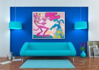 art, comic, kunst, austria, carinthia, mario maja stroitz, artmaja, popart, comic art, comicart, klagenfurt, disco, diva, disco diva, pink panther