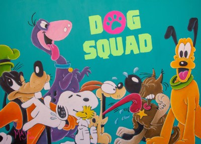 art, comic, kunst, austria, carinthia, mario maja stroitz, artmaja, popart, comic art, comicart, klagenfurt, dog, dogs, dogsquad, pluto, snoopy