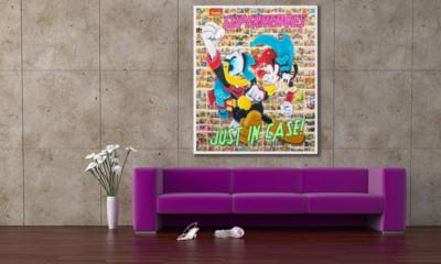 art, comic, kunst, austria, carinthia, mario maja stroitz, artmaja, popart, comic art, comicart, klagenfurt, hero, donald duck, goofey, phantomias