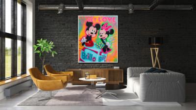 art, comic, kunst, austria, carinthia, mario maja stroitz, artmaja, popart, comic art, comicart, klagenfurt, kunst, kunstgalerie, love, mickeymouse, minniemouse, andywarhol, brillo,pop-art